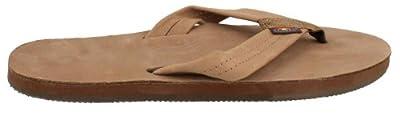 Rainbow Sandals Single Layer Leather Sandal