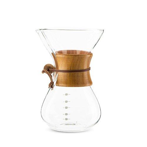True 5466 Finesse Glass Coffee Maker, Clear
