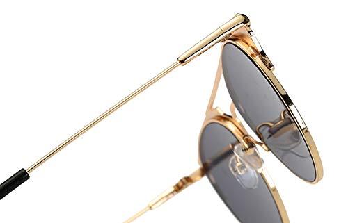 red Vendimia Las Sol ConduccióN Polarizadas Hombres Los Metal Purple BNN Gafas Parejas De SeñOras wAOABv