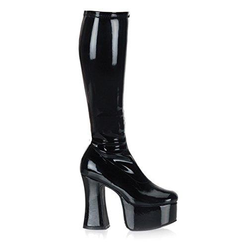 Demonia Slick-100 - sexy gothique plateau bottes chaussures femmes 36-45