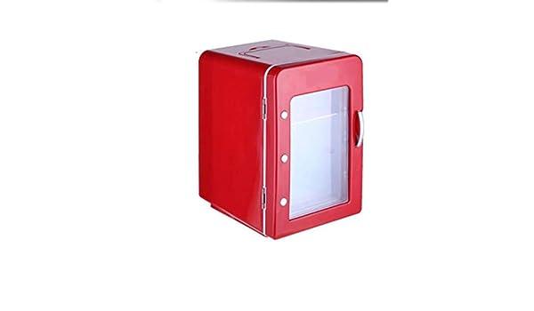 Mini Nevera Roja 4L, Apta Para Cerveza, Refrigeración de Alimentos ...