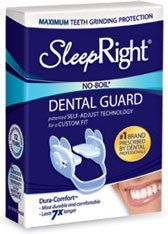 (SleepRight Dura-Comfort No-Boil Night-time Dental Guard)