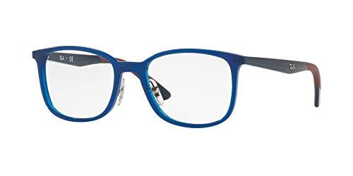 Ray-Ban RX 7142 5761 Eyeglasses BLUE 52mm