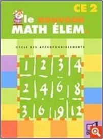 Lire en ligne Le nouveau math élem CE2 epub, pdf
