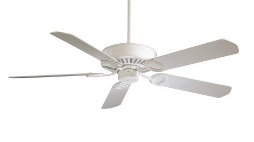Minka-Aire F588-SP-WH, Ultra-Max 54 Ceiling Fan, White Finish