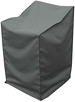 greemotion 127172 Funda Protectora para Sillas de Jardín, Gris, 66x66x160 cm