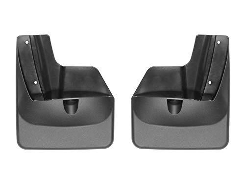 WeatherTech Custom MudFlaps for Subaru Outback - Rear Pair Black (120072)