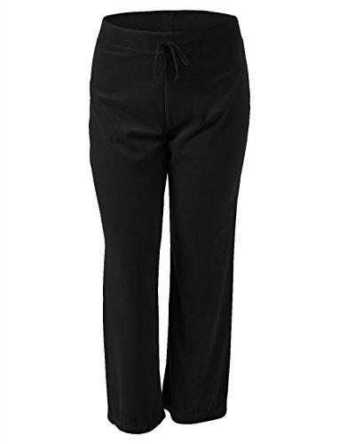Velour Track Pant (7Encounter Women's Velour Track Pant Black L)