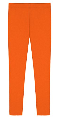 popular-big-girls-cotton-ankle-length-leggings-orange-8