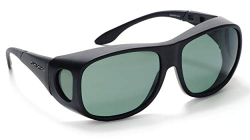 3e208ffe Polar Optics Fits Over Juneau Black/Gray Large Sunglasses