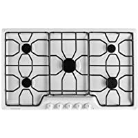 Frigidaire FFGC3610QW36 White Gas Sealed Burner Cooktop
