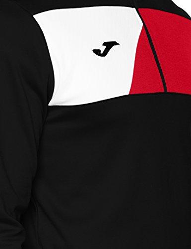 Rouge Crew Veste Joma noir Ii Homme Pour 8BqPXq