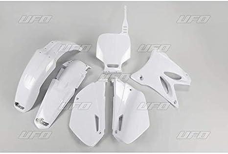 UFO – Kit de plástico completo compatible con Yamaha 85 Yz 02-17, blanco