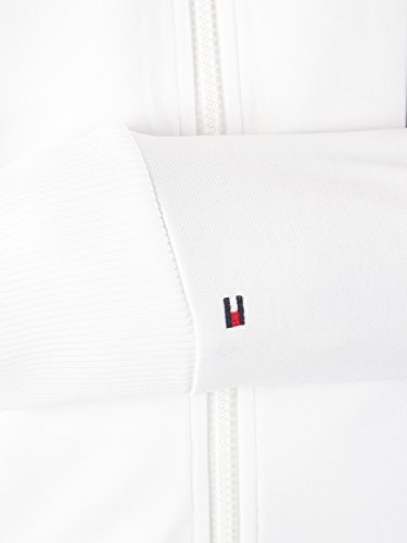 Tommy Hilfiger Men's Sporty Tech Zip Jacket, White, Small by Tommy Hilfiger (Image #6)
