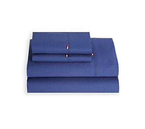 Tommy Hilfiger Signature Pillowcase, King, Dark Blue