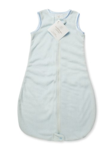 SwaddleDesigns Sleeping Zipper Velvet Pastel