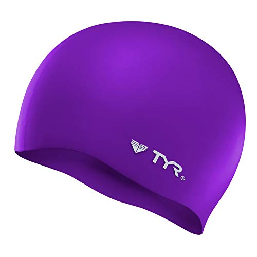 TYR Wrinkle Free Silicone Cap, Purple