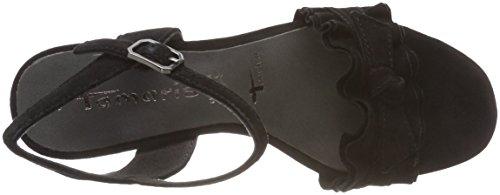Tamaris Donna 28028 Sandali Con Il Cinturino Nero (nero)