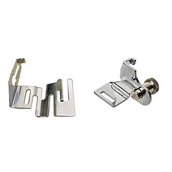 YICBOR 29306 - Adaptador de pie de vástago bajo para máquinas de coser Brother,Singer,White,Janome,Viking y muchas máquinas de coser de vástago bajo: ...