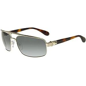 Chrome Hearts Penetration Silver Havana/Grey 66/17/134 Men Sunglasses