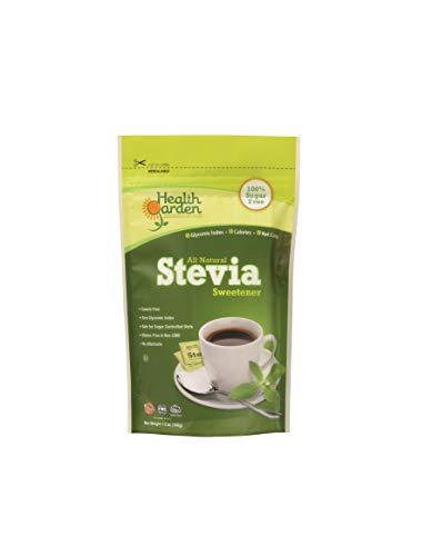 Health Garden Stevia Sweetener Powder - All Natural, Kosher, Gluten Free, Sugar Free (12 oz)