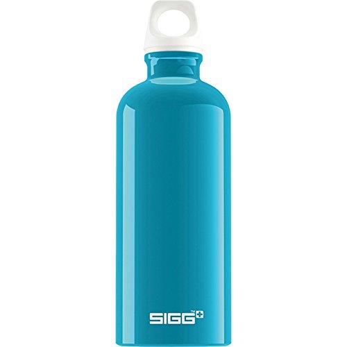 (Sigg Fabulous Water Bottle, Aqua, 0.6-Liter)