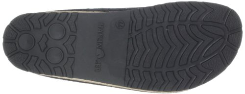 Haflinger Grizzly FRANZL 711001, pantofola unisex zeppa, verde (eibe 035)