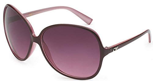 CG Eyewear Designer Vintage Oversized Women's Sunglasses (Pink - Dg Vintage Sunglasses