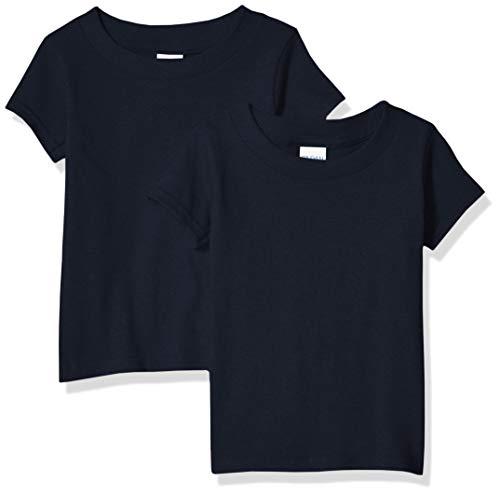 Gildan Kids Toddler T-Shirt, 2-Pack, Navy, 4T