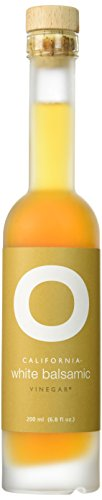 O OLIVE OIL & VINEGAR California White Balsamic Vinegar, 6.76 Fluid Ounce