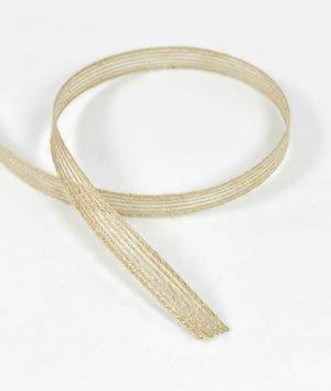 - Natural Jute Ribbon 3/8 Inch x 25 Yards