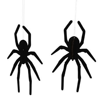 Spider Hanging Ceiling Decorations - Decorative Accessories (Decorative Spiders)
