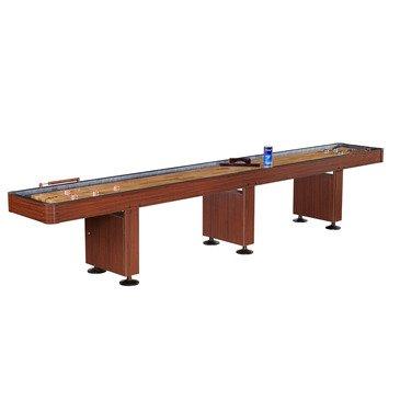Blue Wave FamilyPoolFun 14 Foot Shuffleboard Table - Dark (Challenger Shuffleboard Table)