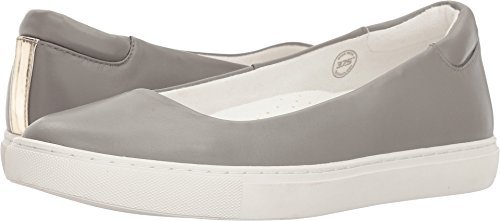 Kenneth Leather Skimmer Women's Ballet Flat York Cole Grey on New Kassie Slip Light q6ZqBwx