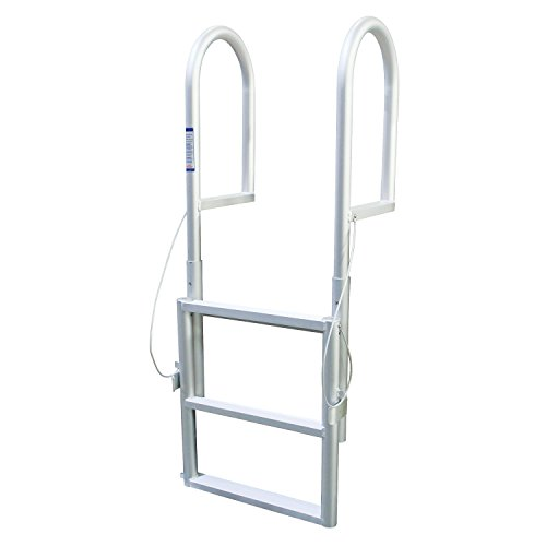 Extreme Max 3005.3458 Sliding Dock Ladder, 3 Step (3 Step Dock Ladder)
