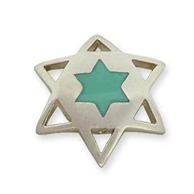 Amazon Jewish Jewelry Star Of David Pendant Sterling Silver