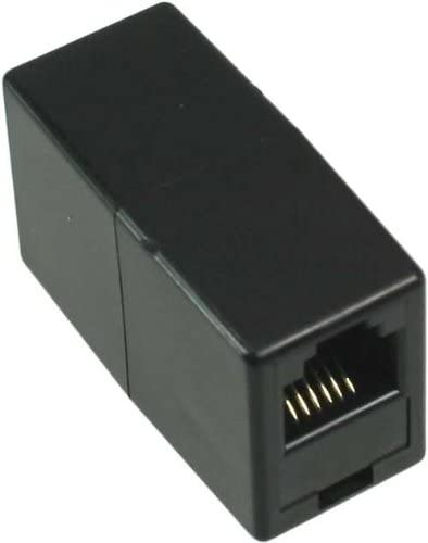 Inline 69999c Modular Kupplung Rj11 Buchse Buchse Computer Zubehör