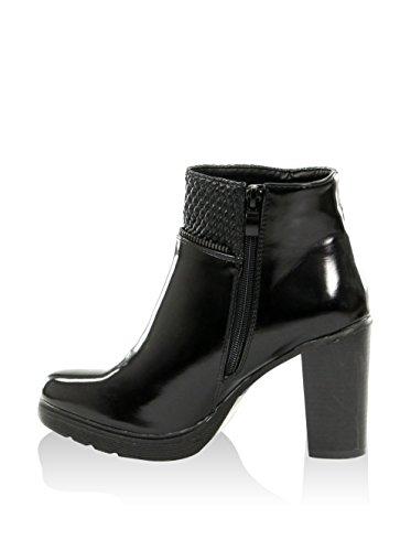 Femininos Catisa Bootee Pretas Botas Calçados Botas qYvPxE