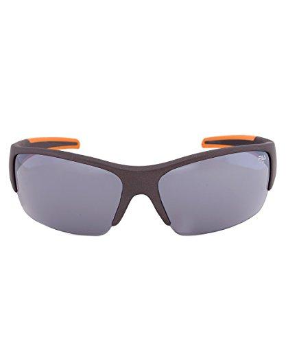 Fila F1048C 800 Rectangular Wrap Sunglasses, - Sunglass Fila