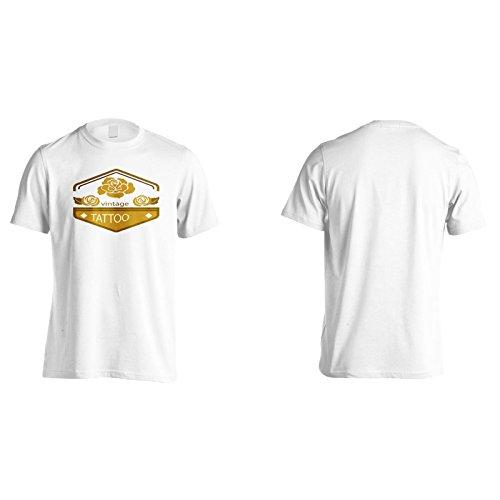 Neue Tattoo Studio Vintage Herren T-Shirt l882m