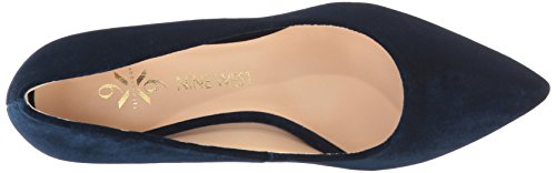 Nine West Women's FIFTH9X9 Fabric Pump Navy Fabric qht32O