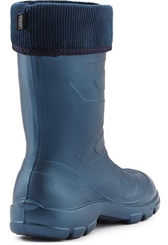 Muy Zapatos Botas Azul Marino de de LALMG879 Seguridad Agua Mujer Metal Antideslizantes Ligeras Ladeheid qtwYpTdxw