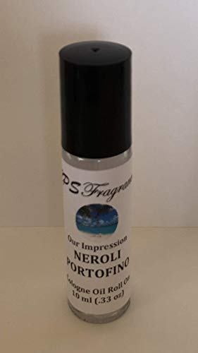 (CPS Fragrances Tom Ford Neroli Portofino Premium Quality Fragrance Impression Super Concentrated Pure Hypoallergenic Body Oil Rollon 10 ml)