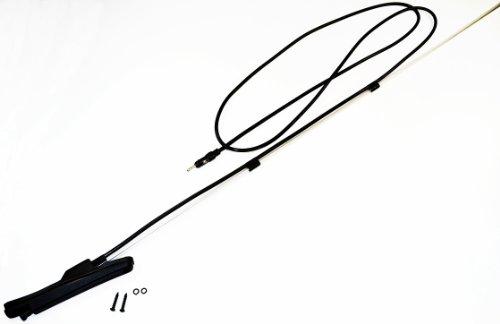 AntennaMastsRus - Geo Tracker - Suzuki Sidekick - Suzuki Vitara - Suzuki Grand Vitara - Suzuki XL-7 - Retractable AM/FM Manual Antenna (Sidekick Radio Suzuki)