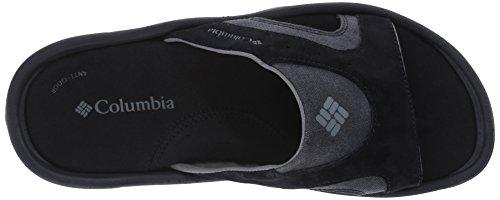 Columbia Män Tango Glid Sandal Svart / Träkol