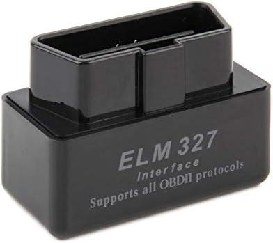 Scanner Automatique de Voiture de Logiciel dinterface diagnostique de logiciels dinterface de v/éhicule sans Fil de Mini scanners ELM327 pour Android