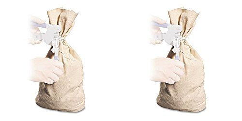MMF Industries Cloth Silver Bag, 19in.H x 12in.W, 2 Packs