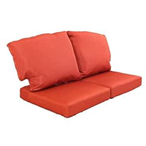 martha stewart living fast drying charlottetown quarry red replacement outdoor. Black Bedroom Furniture Sets. Home Design Ideas