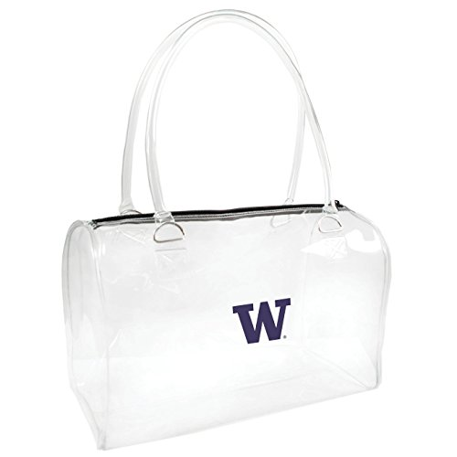 ncaa-washington-huskies-womens-bowler-handbag-one-size-clear