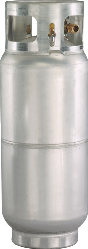 - Worthington 336053 43-Pound Aluminum Forklift Propane Cylinder With Gauge And Fill Valve